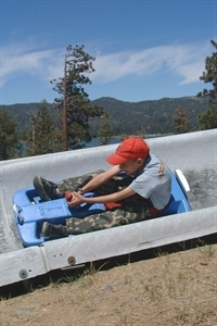Alpine Slide at Magic Mountain